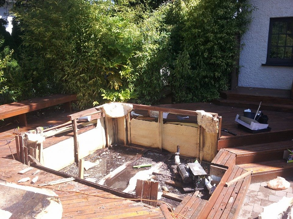 hot bothell in removal tub hottubbothell wa